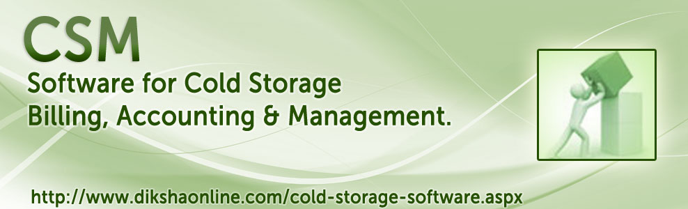 Cold Store ERP - Online Software for Cold Storage ERP Billing, Accounting & Management.