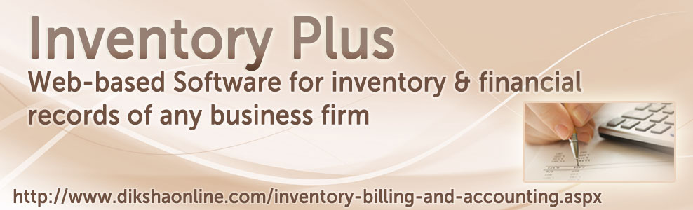 online Software for inventory & financial records of any business firm